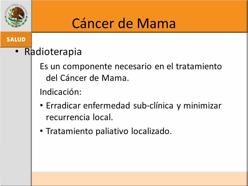 Cáncer de Mama Radioterapia