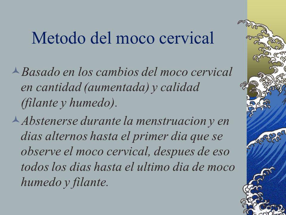 Metodo del moco cervical