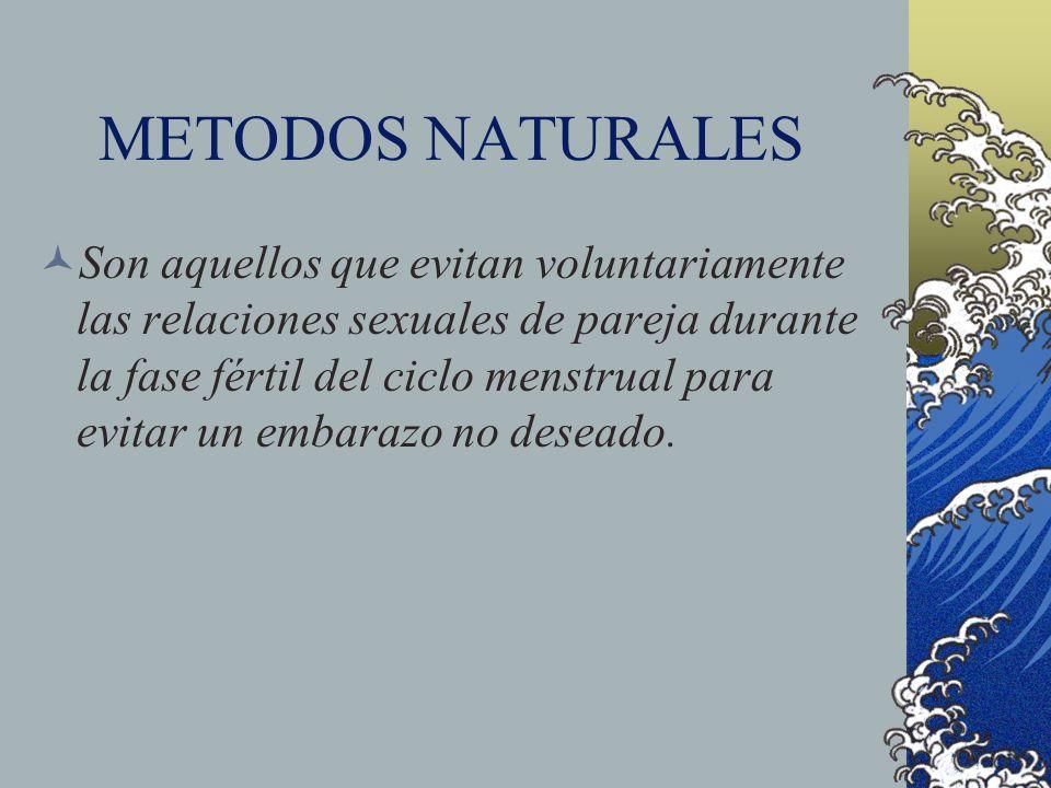 METODOS NATURALES