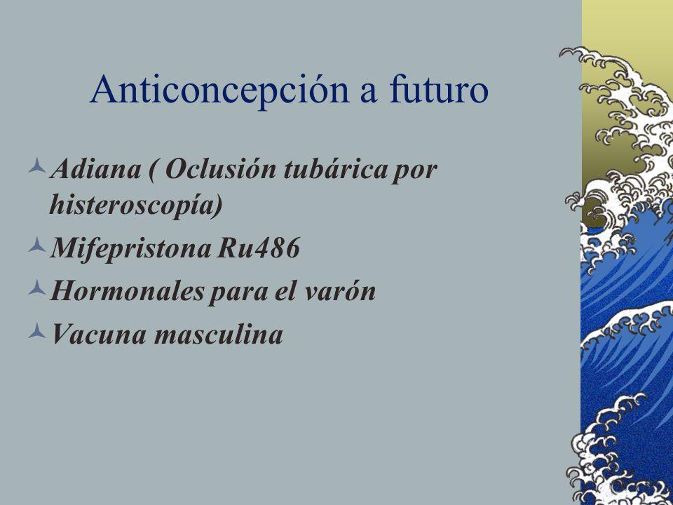 Anticoncepción a futuro