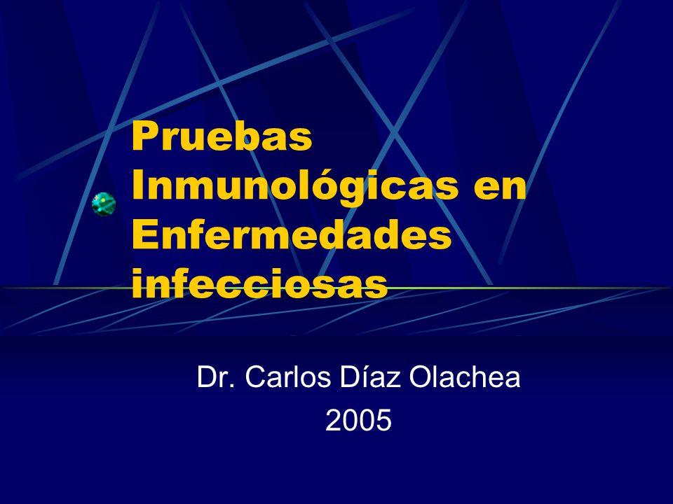 Pruebas Inmunológicas en Enfermedades infecciosas