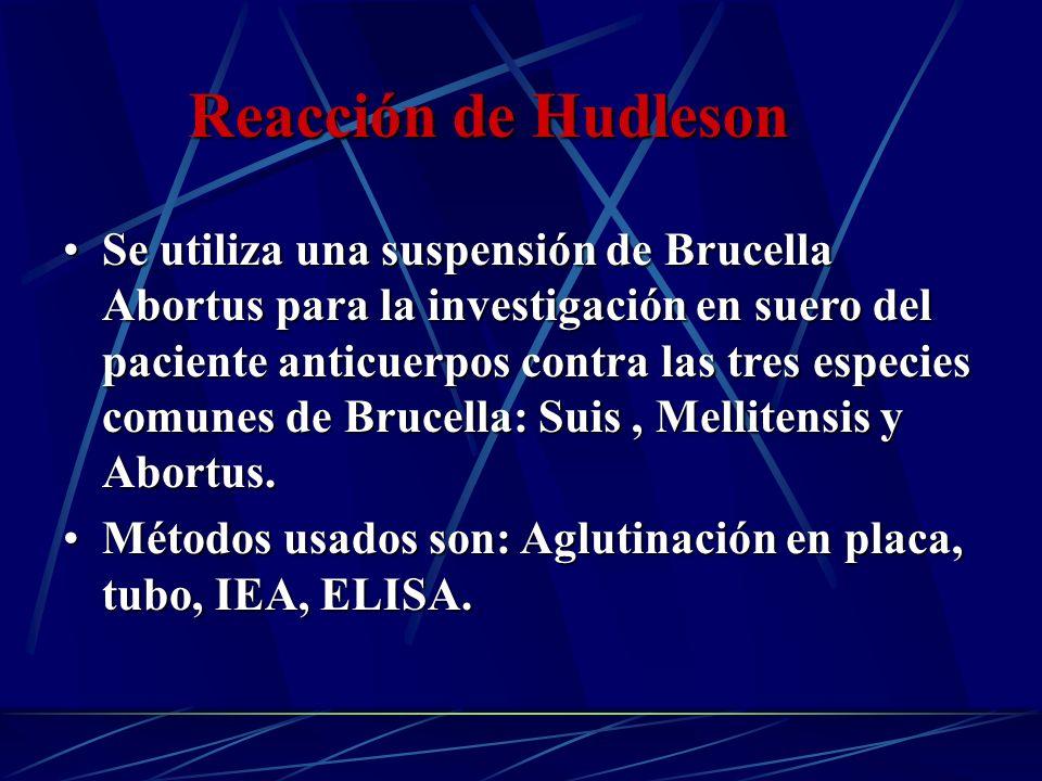 Reacción de Hudleson
