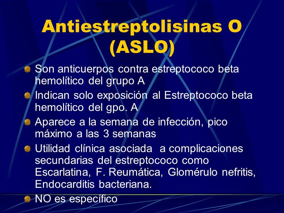 Antiestreptolisinas O (ASLO)