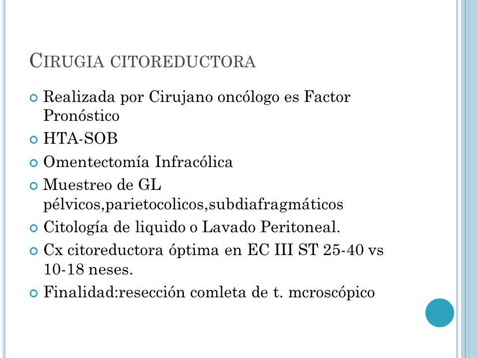Cirugia citoreductora