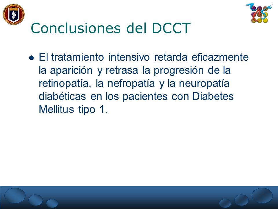 Conclusiones del DCCT