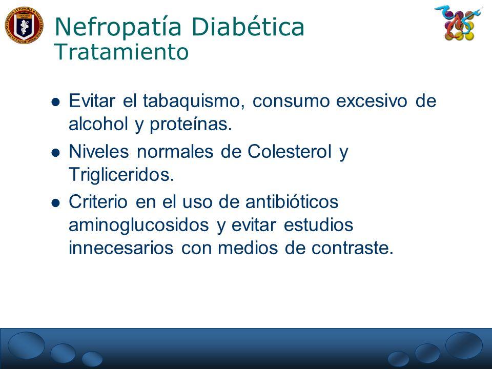 Nefropatía Diabética Tratamiento