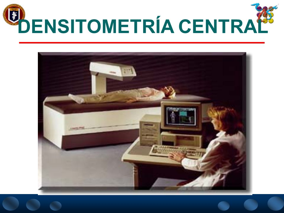 DENSITOMETRÍA CENTRAL