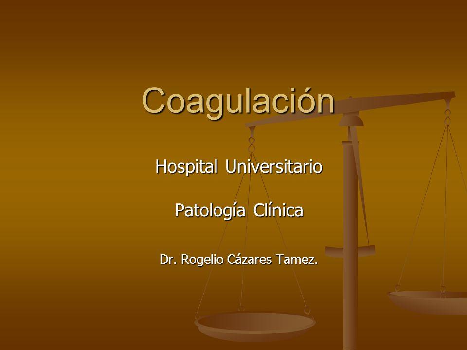Hospital Universitario Patología Clínica Dr. Rogelio Cázares Tamez.