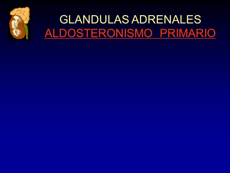 GLANDULAS ADRENALES ALDOSTERONISMO PRIMARIO