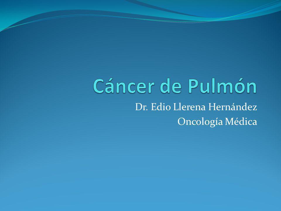 Dr. Edio Llerena Hernández Oncología Médica