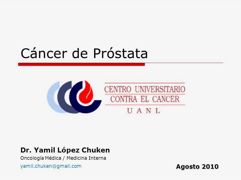 Dr. Yamil López Chuken Oncología Médica / Medicina Interna