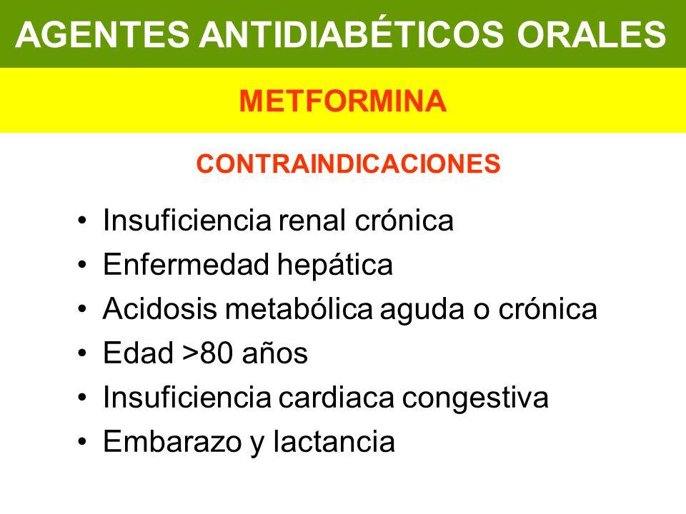 AGENTES ANTIDIABÉTICOS ORALES AGENTES ANTIDIABÉTICOS ORALES