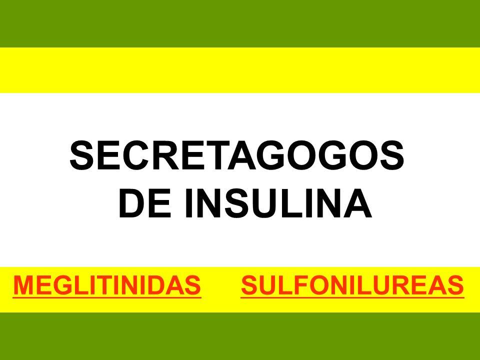 MEGLITINIDAS SULFONILUREAS