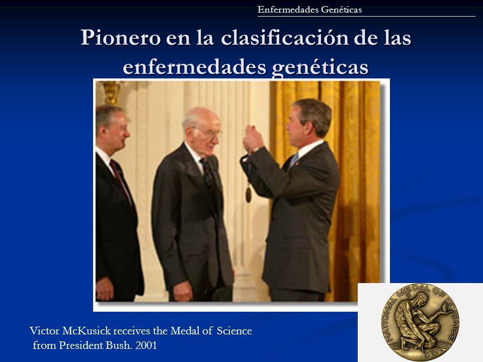 Pionero en la clasificación de las enfermedades genéticas
