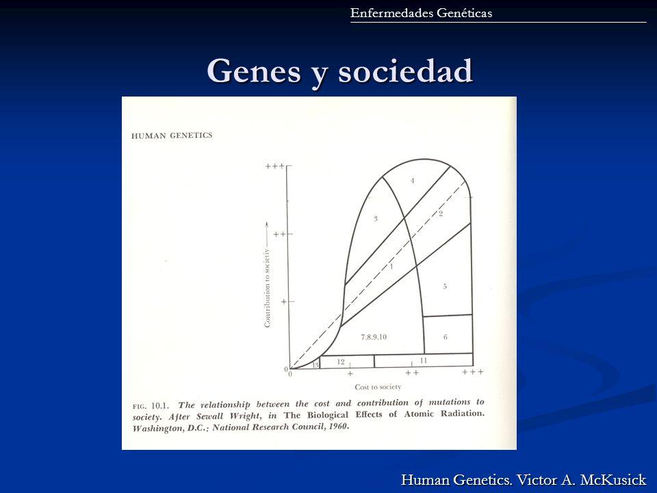 Genes y sociedad Human Genetics. Victor A. McKusick
