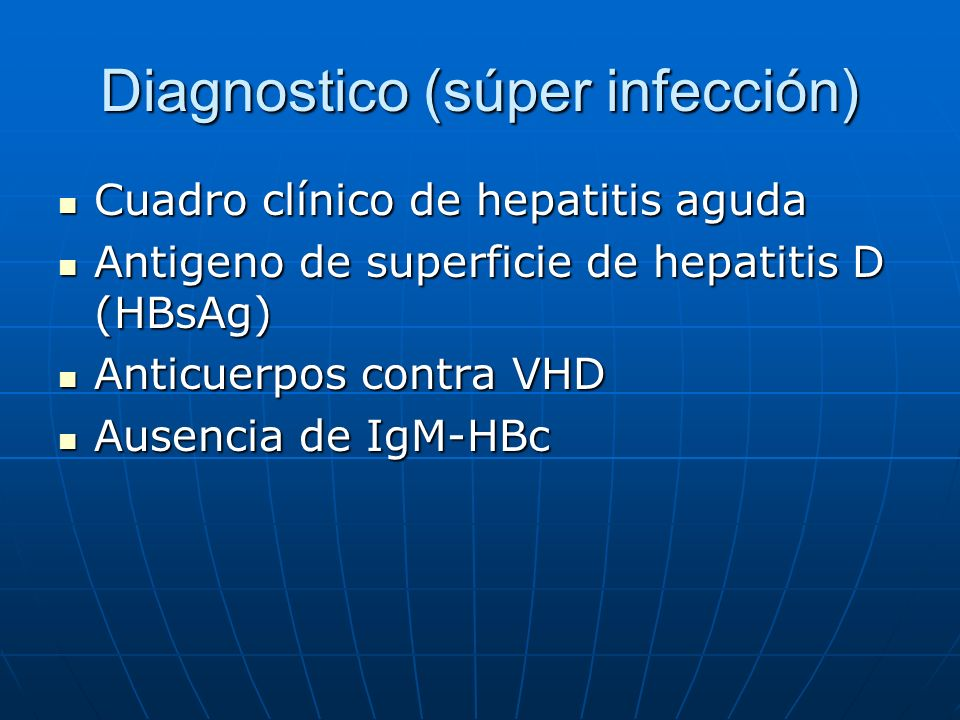 Diagnostico (súper infección)