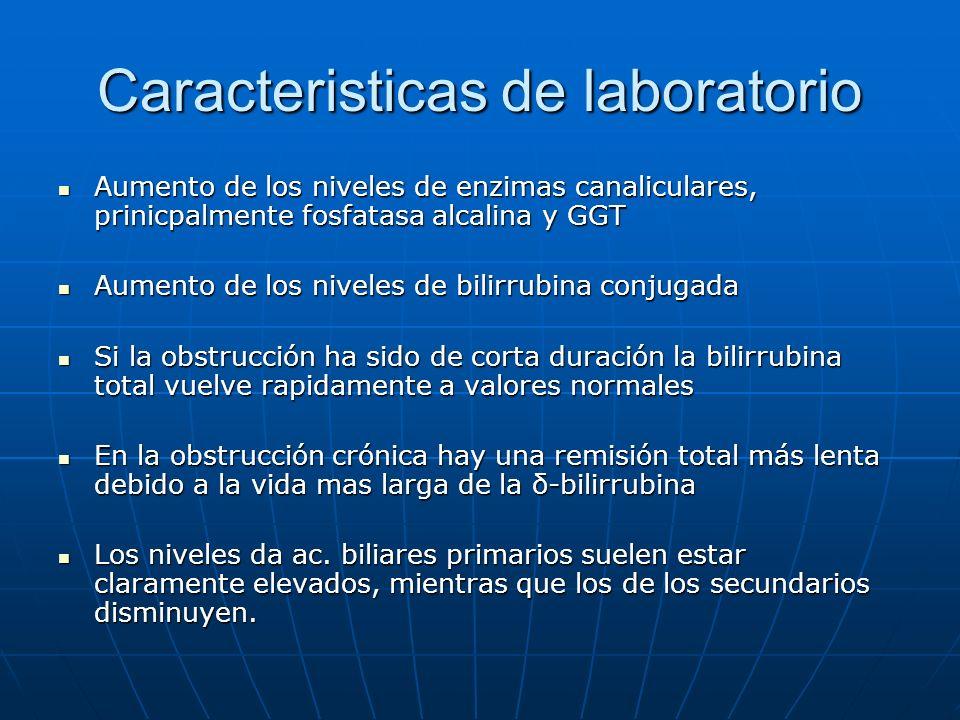 Caracteristicas de laboratorio
