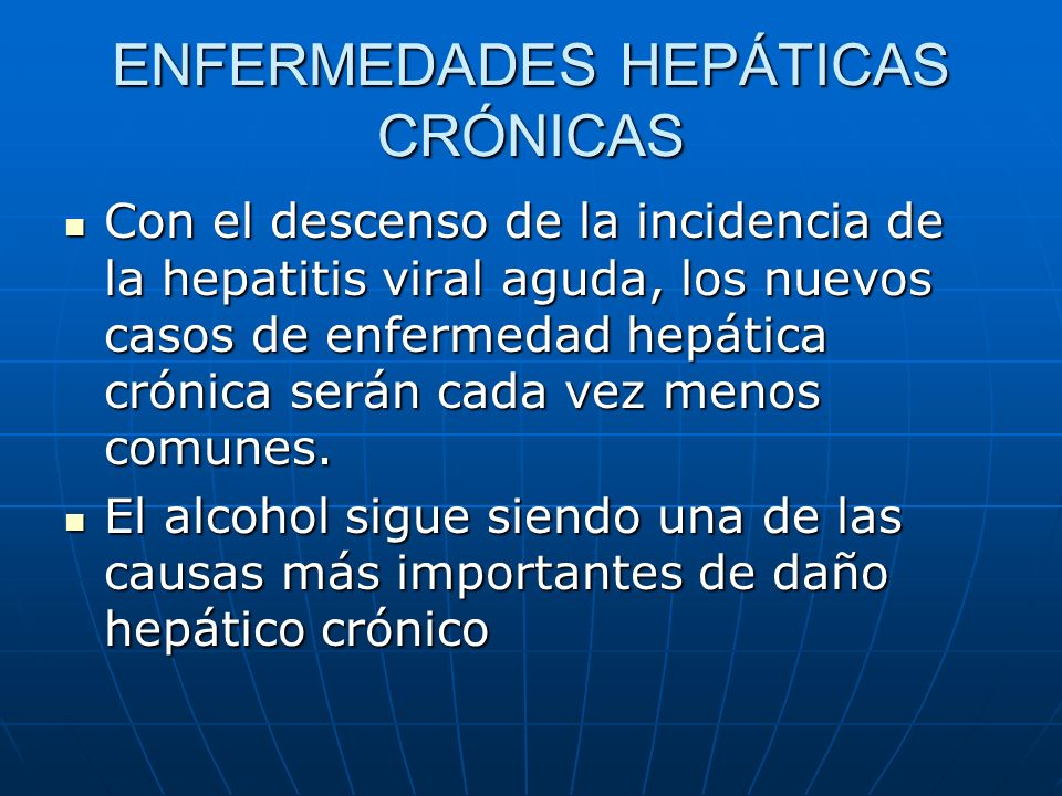 ENFERMEDADES HEPÁTICAS CRÓNICAS