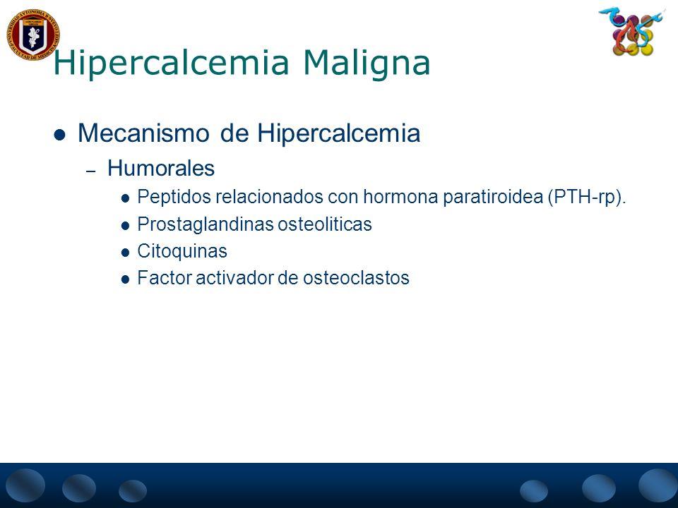 Hipercalcemia Maligna