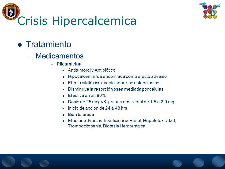 Crisis Hipercalcemica