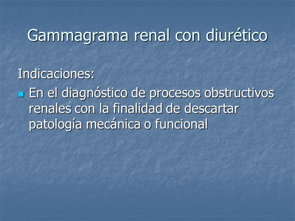 Gammagrama renal con diurético