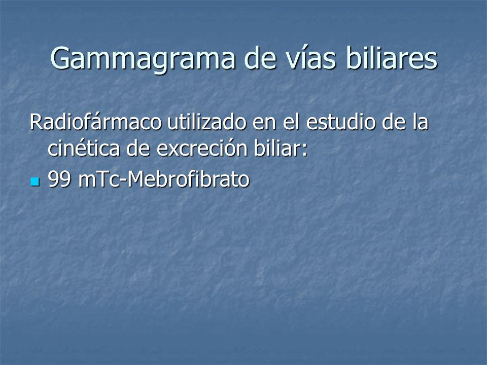 Gammagrama de vías biliares