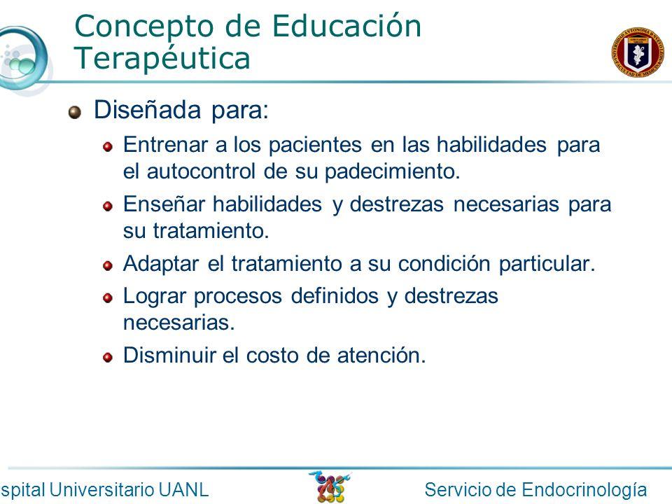Concepto de Educación Terapéutica