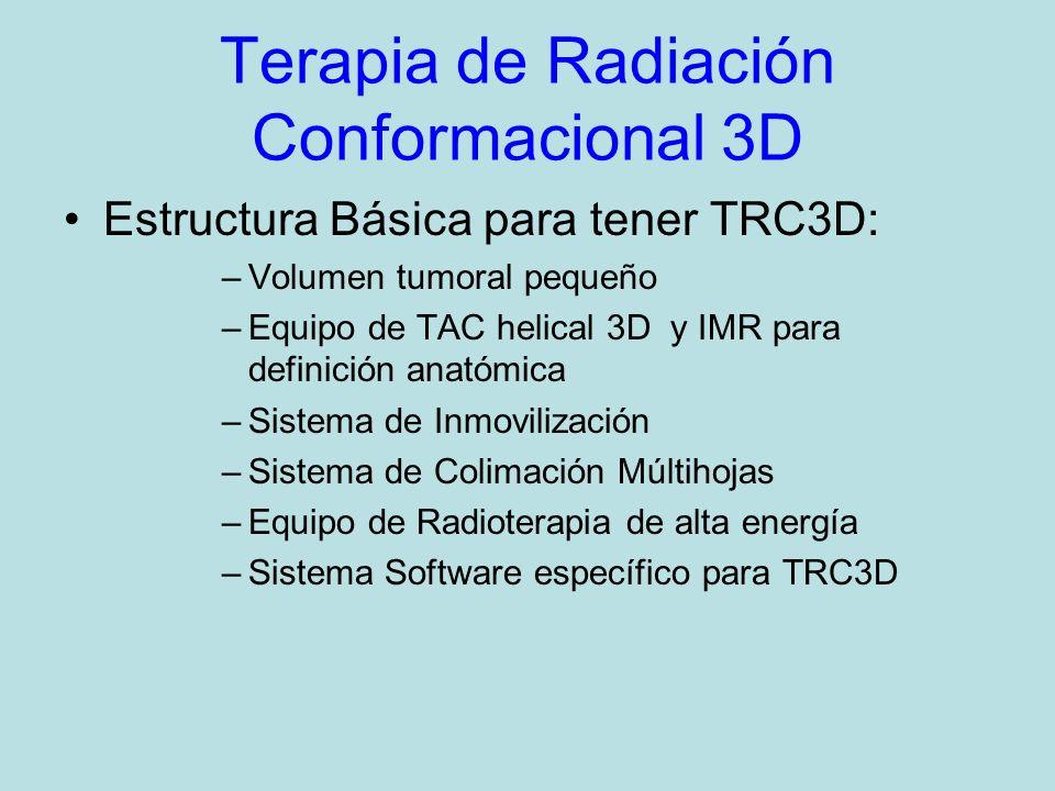Terapia de Radiación Conformacional 3D