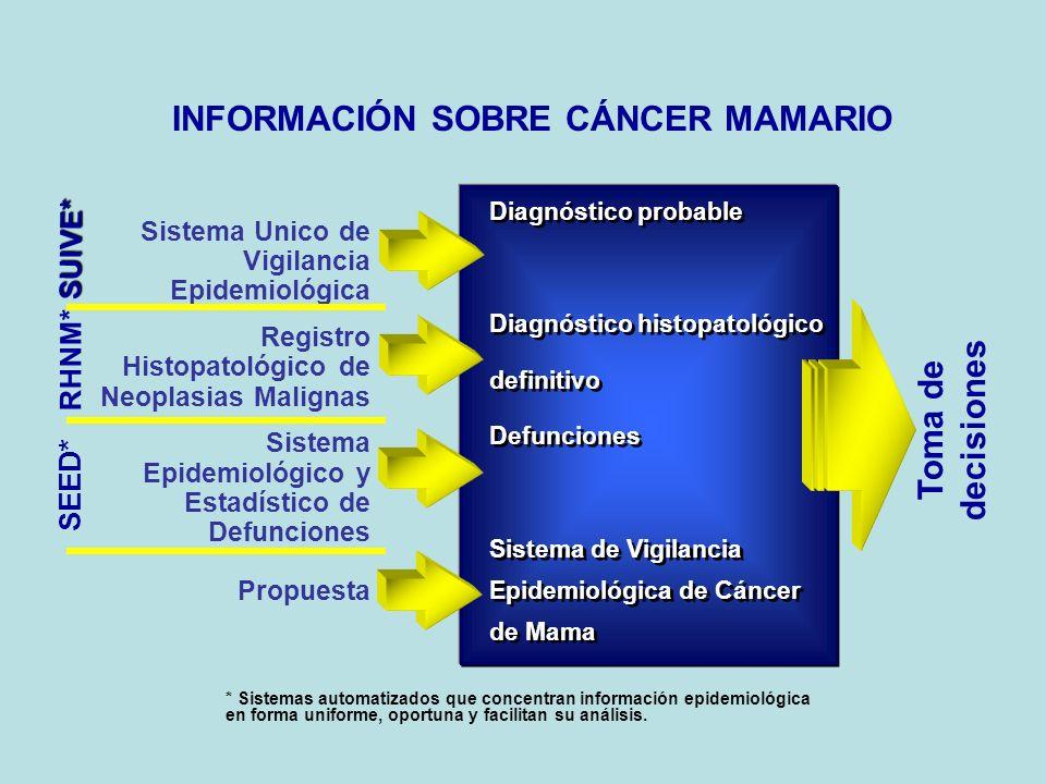 INFORMACIÓN SOBRE CÁNCER MAMARIO