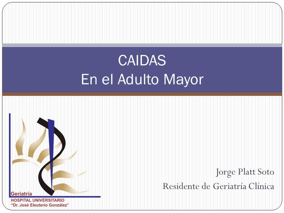 CAIDAS En el Adulto Mayor