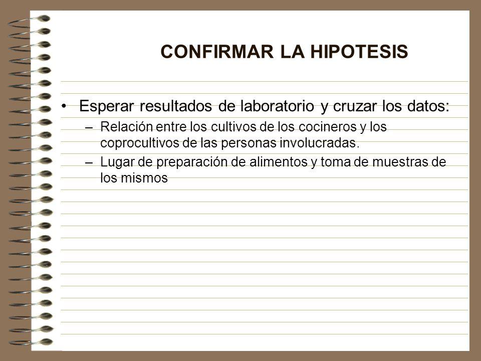 CONFIRMAR LA HIPOTESIS