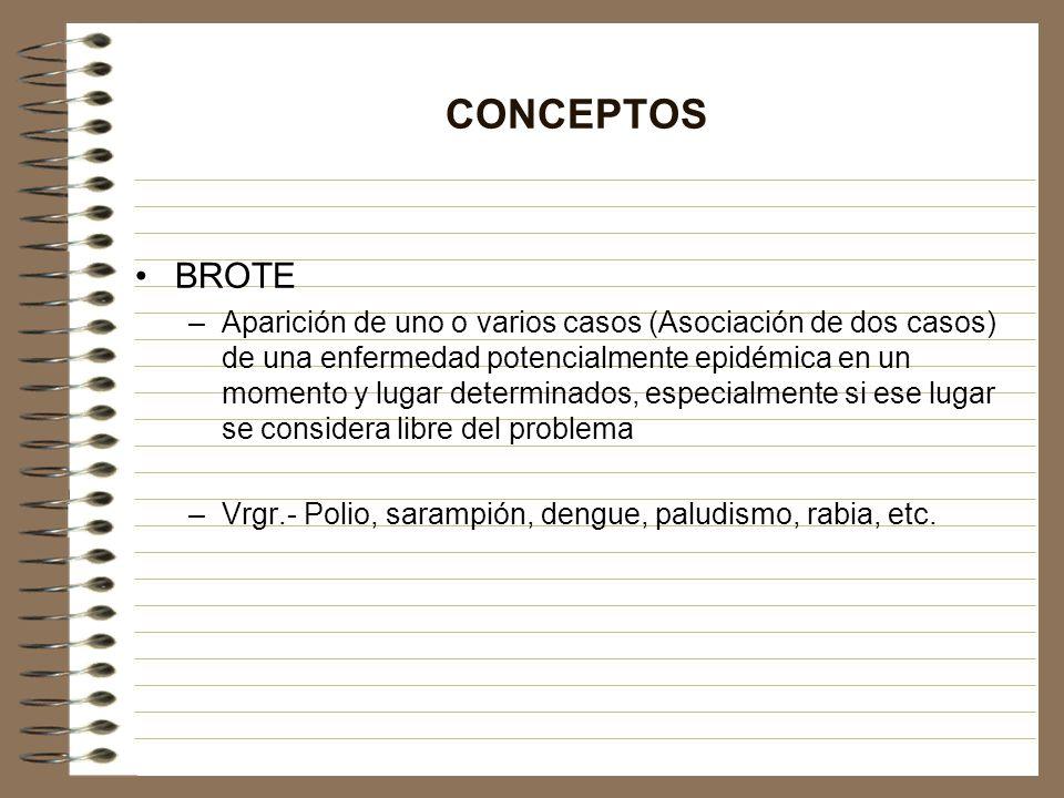 CONCEPTOS BROTE.