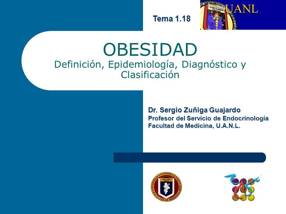 OBESIDAD Definición, Epidemiología, Diagnóstico y Clasificación