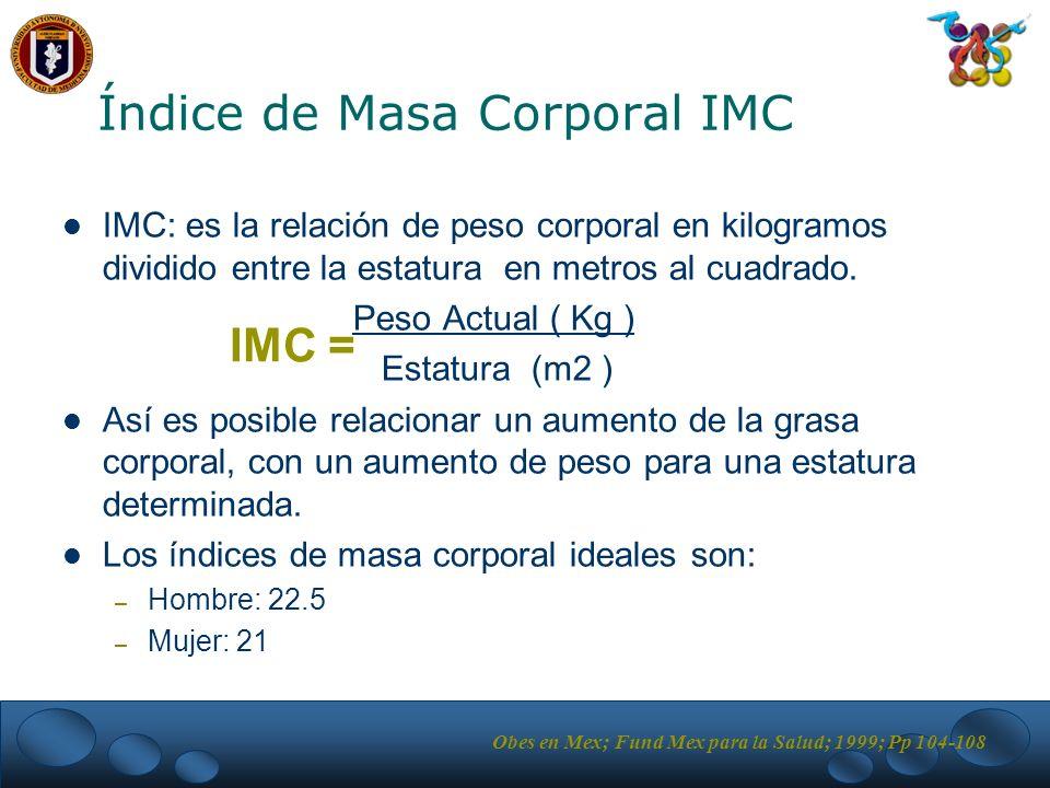 Índice de Masa Corporal IMC