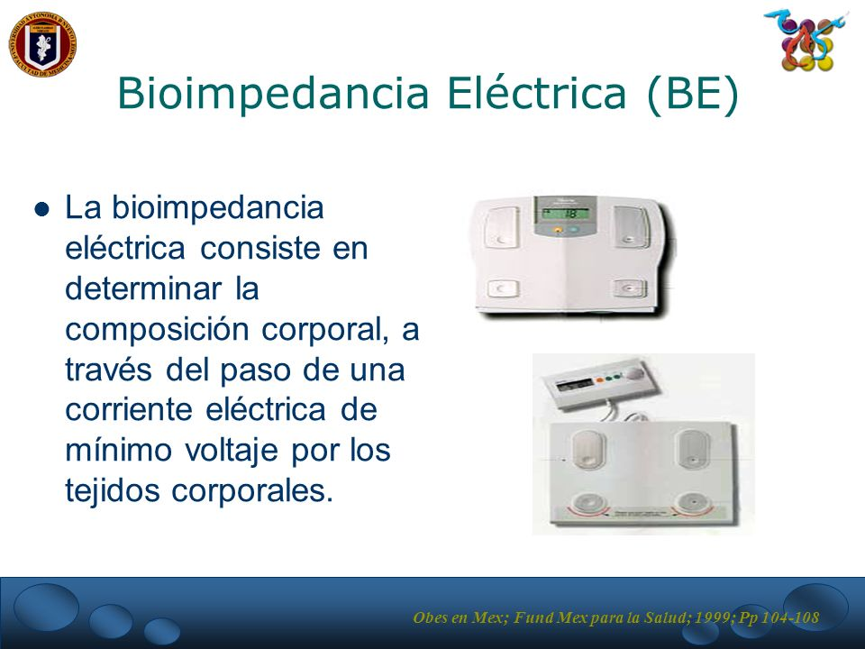 Bioimpedancia Eléctrica (BE)‏