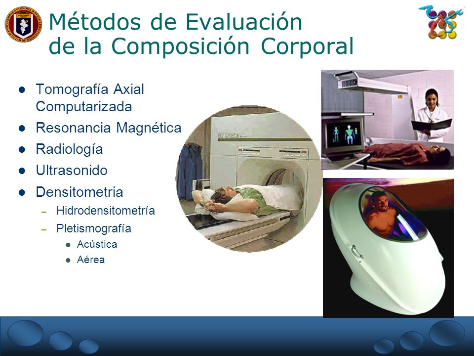 Métodos de Evaluación de la Composición Corporal