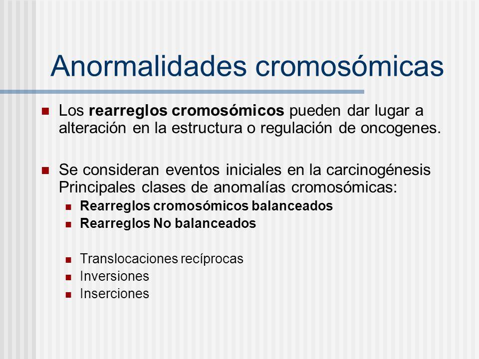 Anormalidades cromosómicas