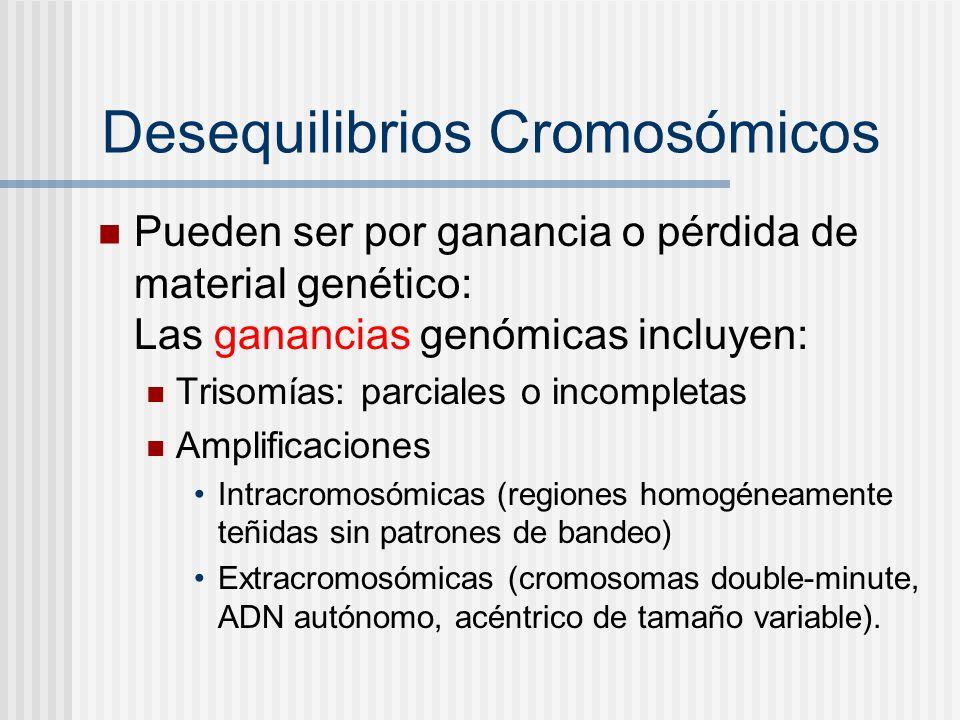 Desequilibrios Cromosómicos