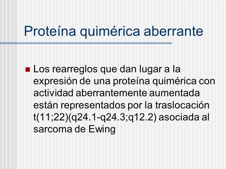 Proteína quimérica aberrante
