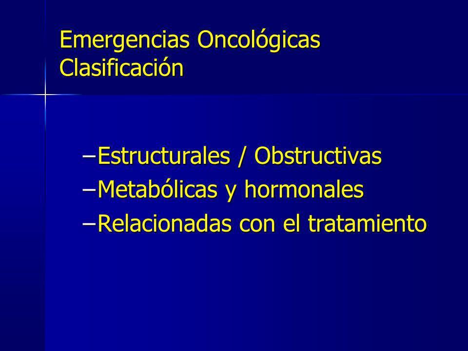 Emergencias Oncológicas Clasificación