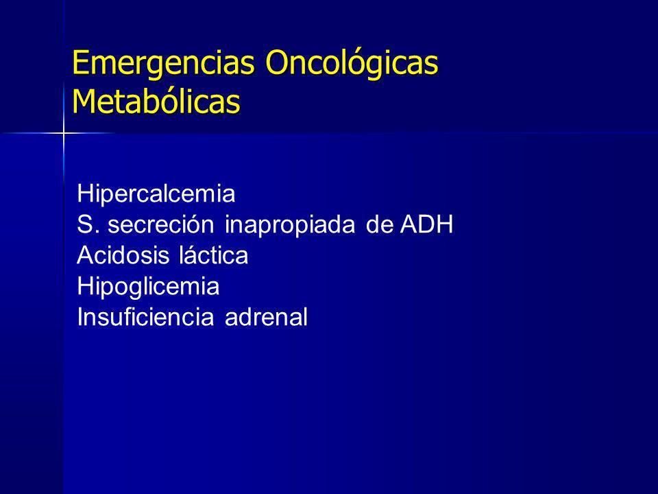 Emergencias Oncológicas Metabólicas
