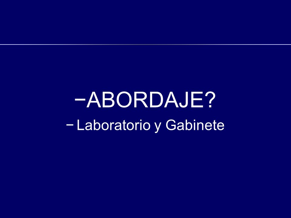Laboratorio y Gabinete