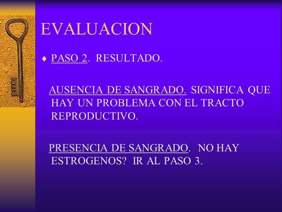 EVALUACION PASO 2. RESULTADO.