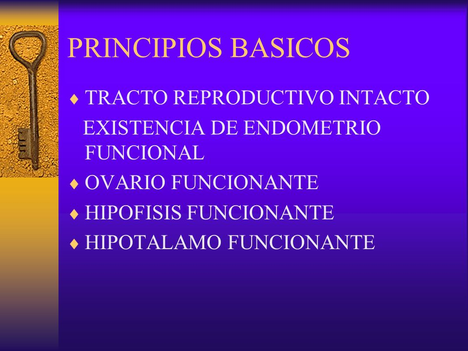 PRINCIPIOS BASICOS TRACTO REPRODUCTIVO INTACTO