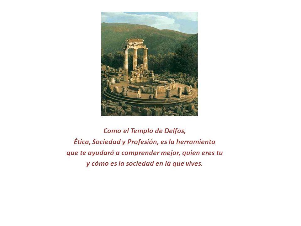 Como el Templo de Delfos,