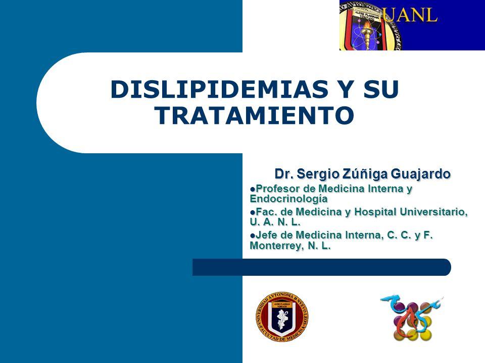 DISLIPIDEMIAS Y SU TRATAMIENTO