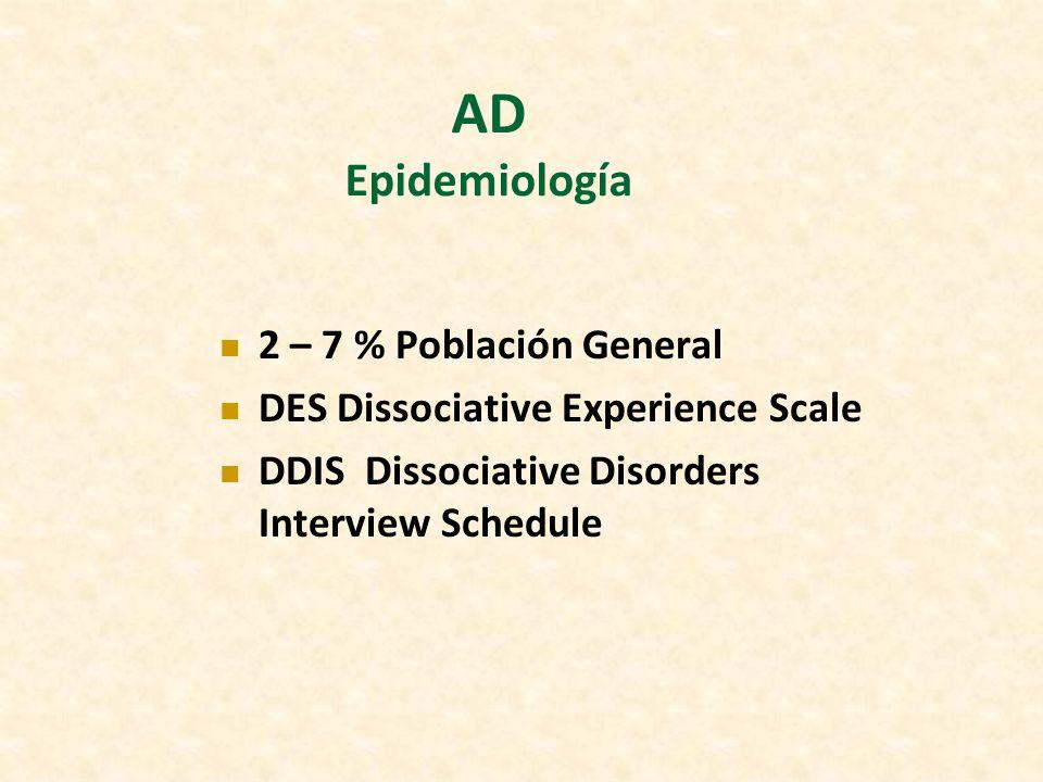 AD Epidemiología 2 – 7 % Población General