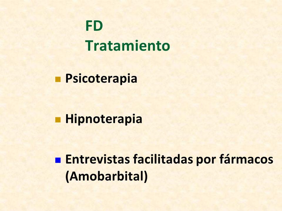 FD Tratamiento Psicoterapia Hipnoterapia