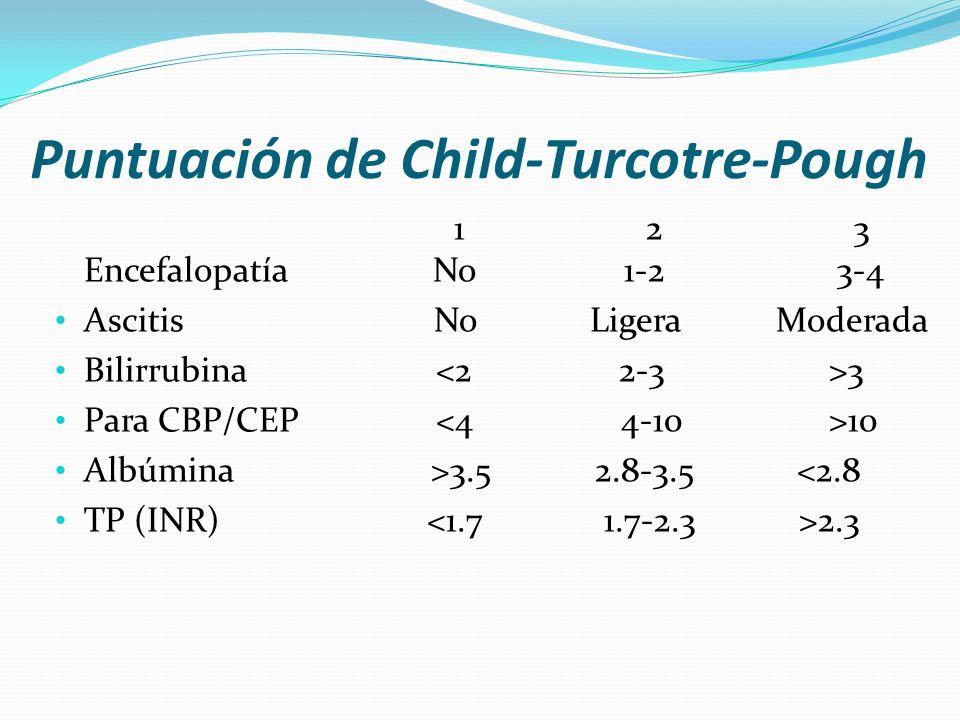 Puntuación de Child-Turcotre-Pough