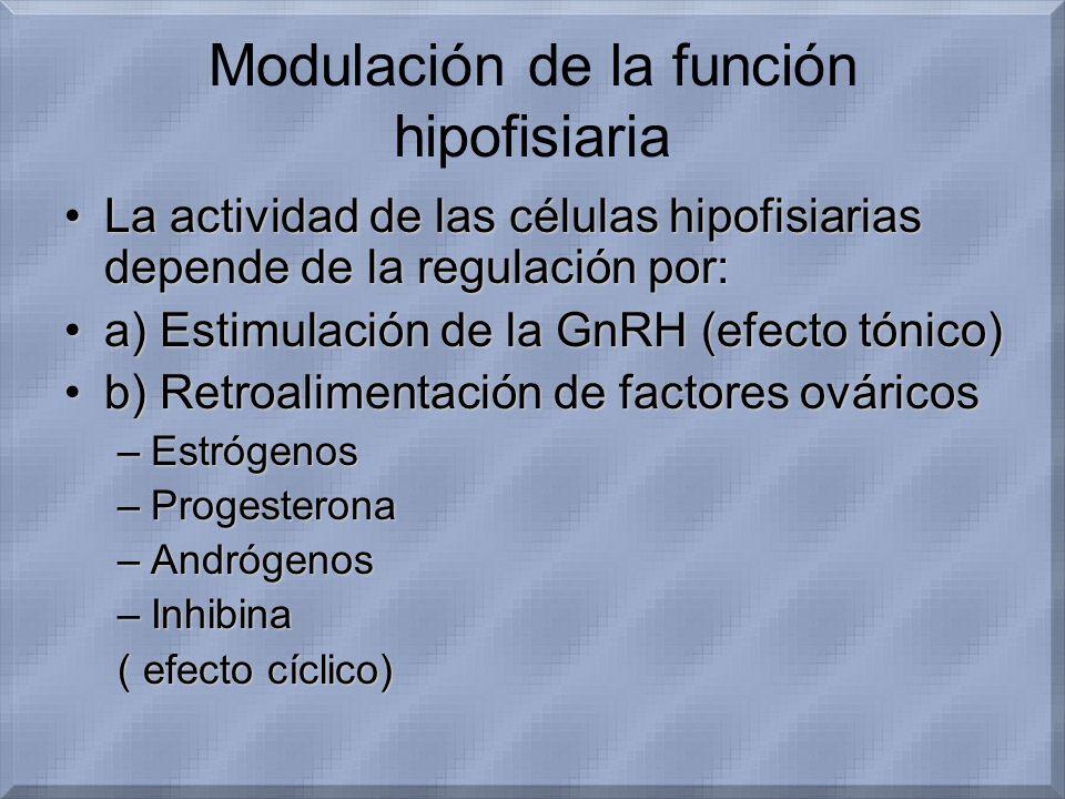 Modulación de la función hipofisiaria